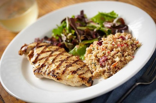 Quinoa, Chicken and Spinach