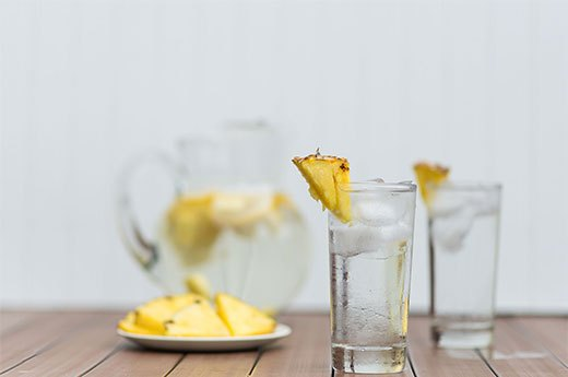 8. Pineapple-Lemon Water