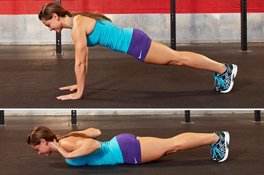 11. Hand-Release Push-Ups