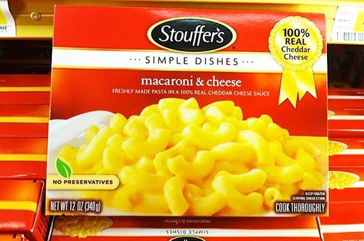 17. WORST: Stouffer's Macaroni and Cheese
