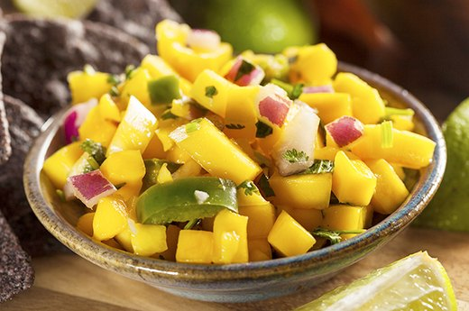 9. Mangoes Make Great Salsas