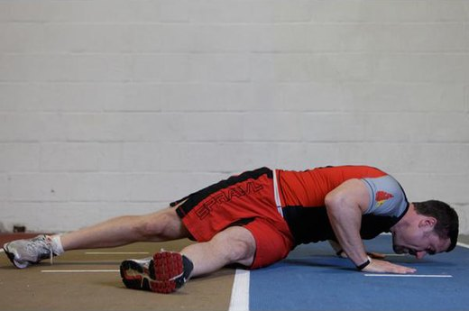 8. Hip Twist Push-Up