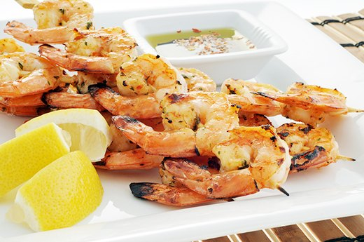 3. SHRIMP: Grilled Instead of Fried
