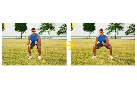 5. In-and-Out Squats