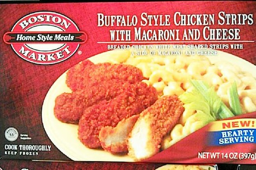 3. WORST: Boston Market's Buffalo-Style Chicken Strips