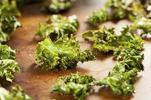 4. Roasted Kale Chips