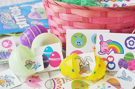 Easter-Themed Temporary Tattoos