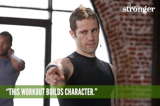 "13. ""This Workout Builds Character."""