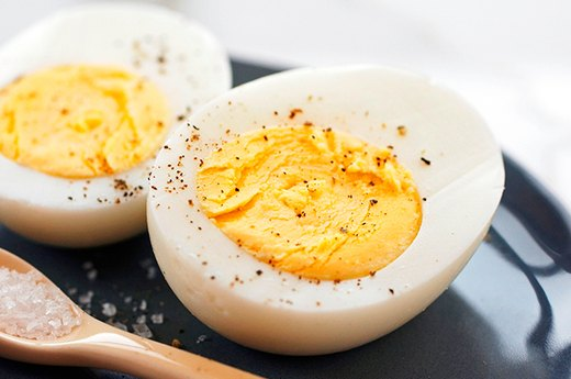 10. Easy Hard-Boiled Eggs