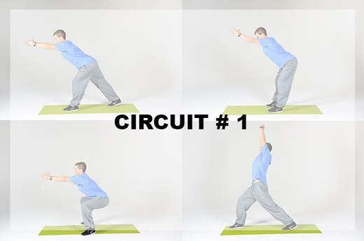 Circuit A: 4 moves, 2-3 rounds