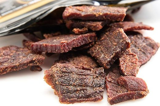 10. Beef, Turkey, or Salmon Jerky