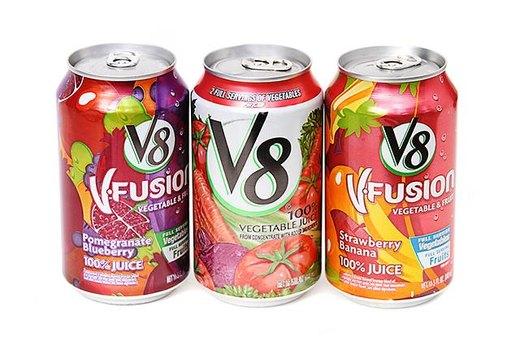 5. 100 Percent Vegetable or Fruit Juice