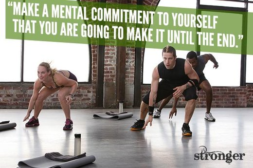 "16. ""Make a Mental Commitment to Make It to the End."""