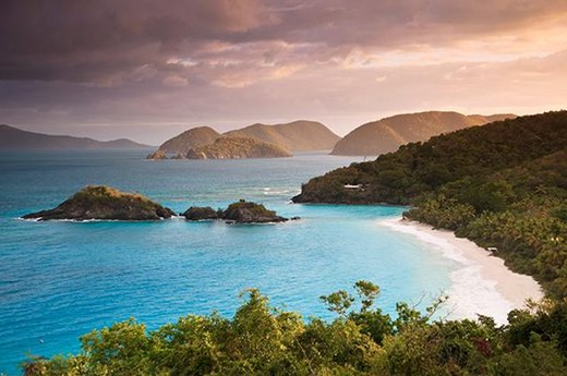 "7. Best Park for ""Finding Nemo"":  Virgin Islands National Park (Trunk Bay)"