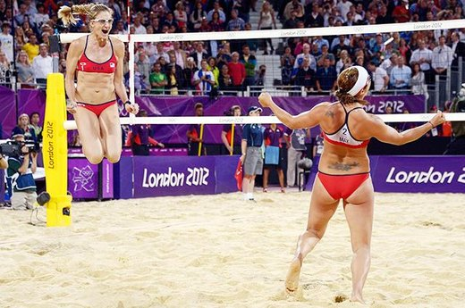 \#14. A Beach Volleyball Threepeat For Misty and Kerri