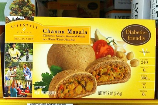 18. BETTER ALTERNATIVE: Lifestyle Chefs Channa Masala Meal-in-a-Bun