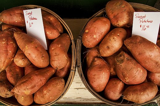 4. Sweet Potatoes