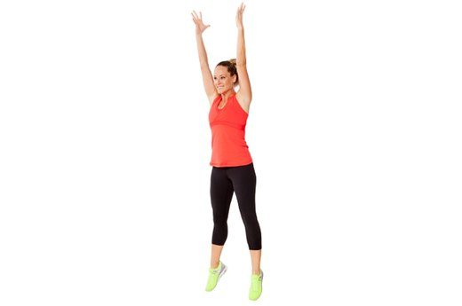 EXERCISE 2: Squat Jumps - 2 Rounds
