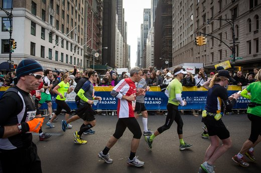 17. New York City Marathon (November)