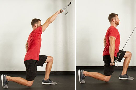 9. Half-Kneeling Single-Arm Cable Pulldown