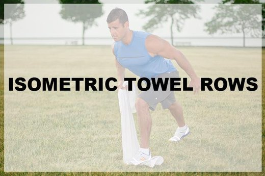 9. Isometric Towel Rows