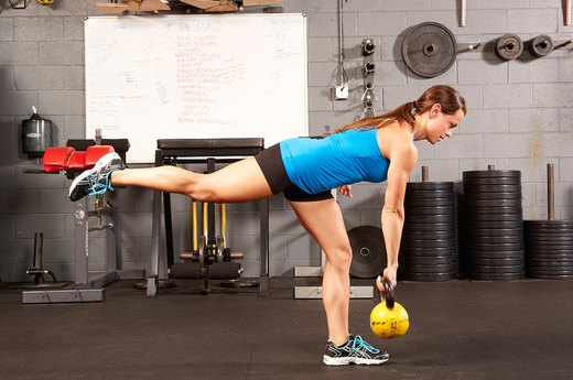 11. Single-Leg Deadlift