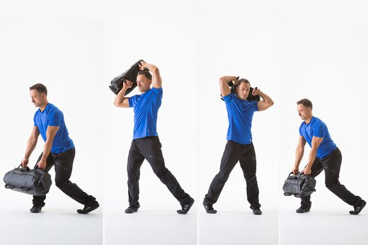 Train Like a Professional Football Player With These Sandbag Moves
