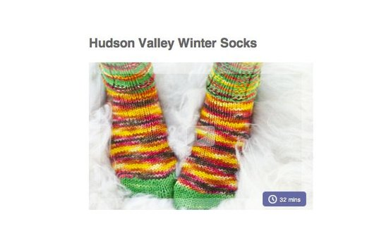 13. MAKE YOUR OWN WINTER SOCKS