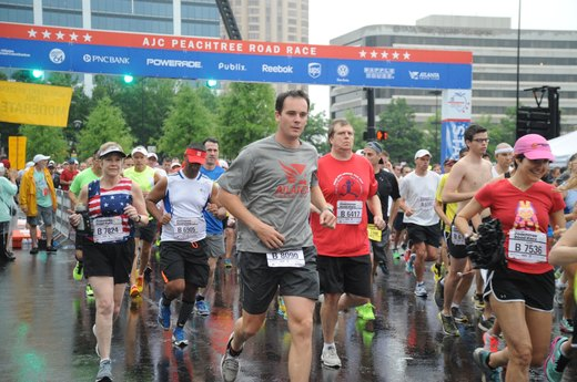 AJC Peachtree Road Race (July)