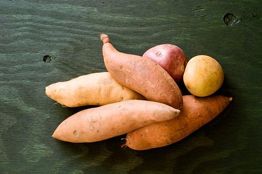 3. SWEET POTATOES: Sweet Potato Puff
