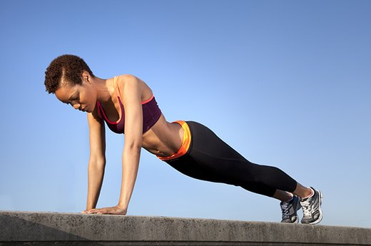 6. OLD MOVE: Triceps Pushdowns - NEW MOVE: Close-Grip Pushups