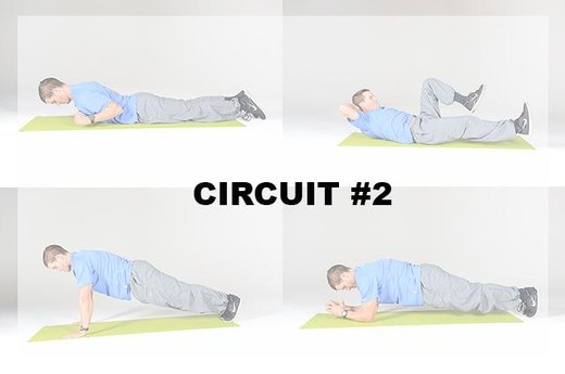 Circuit B: 4 Moves, 2-3 rounds