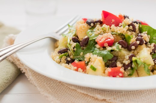 1. Chipotle Black Bean and Quinoa Stew