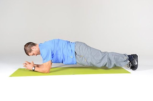 Circuit B Move #2: Front Plank (Part One)