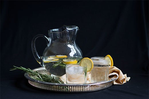 6. Lemon-Rosemary Spa Water
