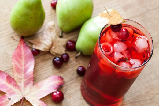 5. Cranberry Pear Cooler