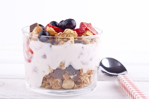 10. High-Protein Yogurt and Granola