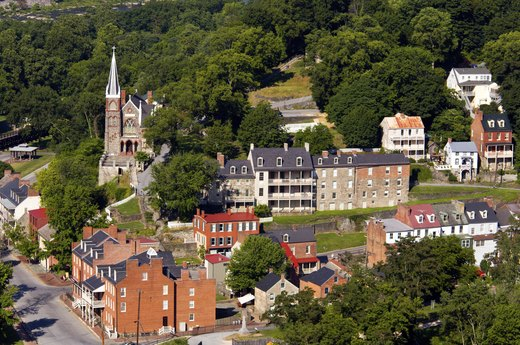 3. Harpers Ferry, West Virginia