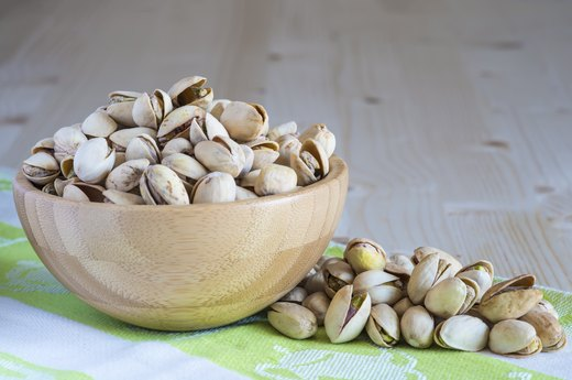 12. Nuts: Pistachios, Almonds and Walnuts