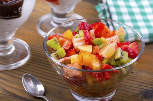 5. Fruit Salsa with Cinnamon Sugar Pita Chips