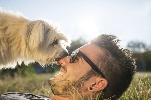 5. Man's Best Friend Boosts Self-Esteem
