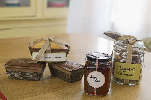 9. Homemade Goods (Sans Additives)