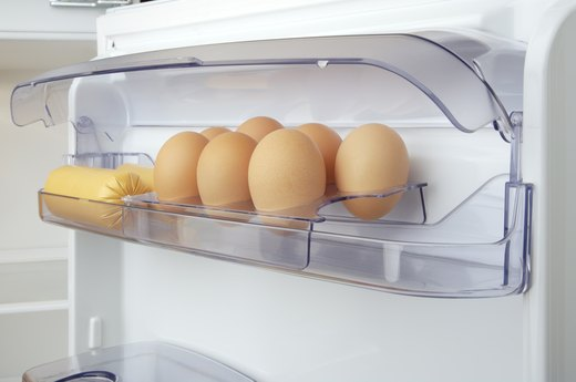 MISTAKE #5: Storing Eggs in the Refrigerator-Door Egg Holder