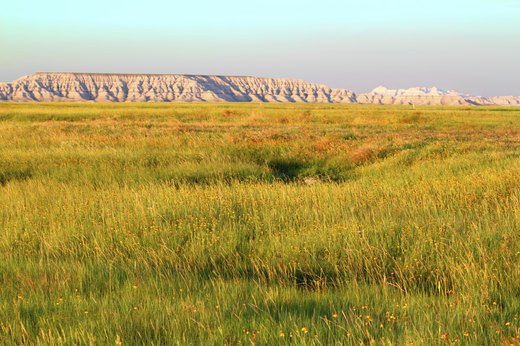 14. Badlands National Park, South Dakota
