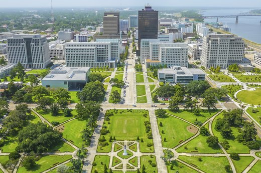 50. Baton Rouge, Louisiana