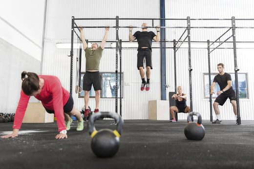3. CrossFit Keeps Body and Brain Guessing.