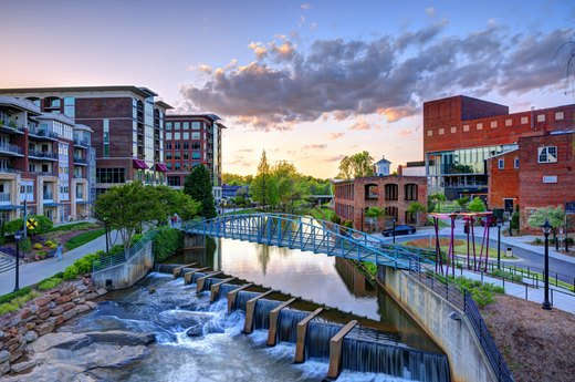 33. Greenville, South Carolina