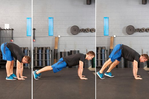 4. Walk-Out Planks
