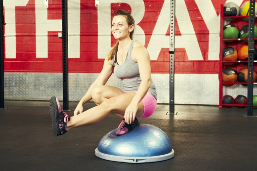 Cautions When Using a BOSU Ball