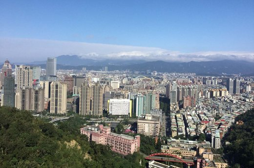 4. Elephant Mountain, Taipei, Taiwan